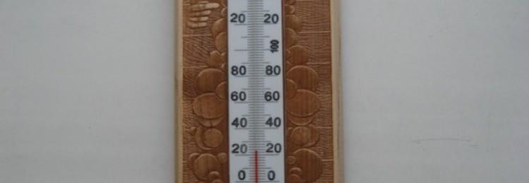 Измеряем температуру в парной