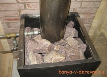 Выбираем печь для русской бани