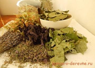 Травяные мешочки или снова о пользе растений