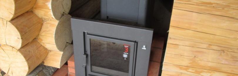 Особенности установки металлической печи в бане