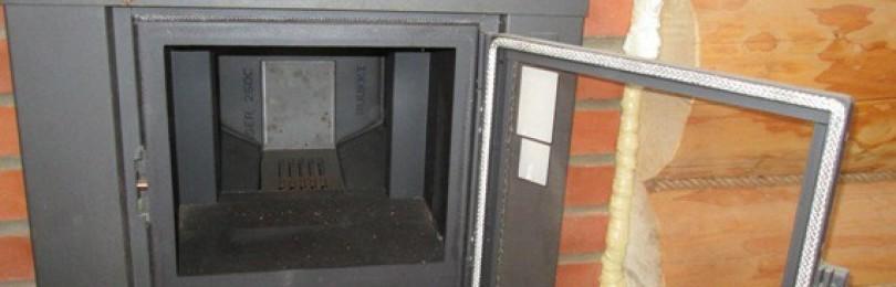 Установка печи с раздвижным топливным каналом